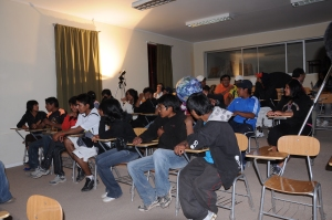 Estudiates del Liceo Likan Antai / Students in Liceo Likan Antai