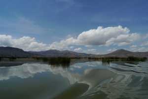 La otra orilla del Lago Titicaca