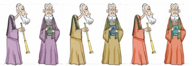 Galileo Galilei Design concept. Credits: GalileoMobile / El Birque Animaciones
