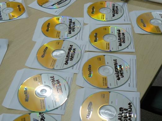 Material distribuído para os professores.