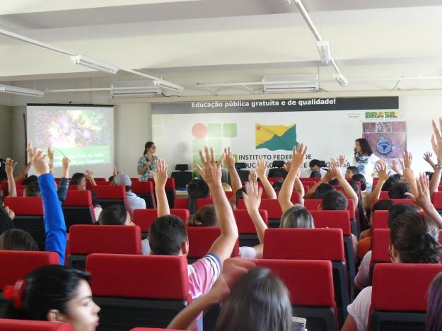 Auditório cheio no terceiro dia em Rio Branco.