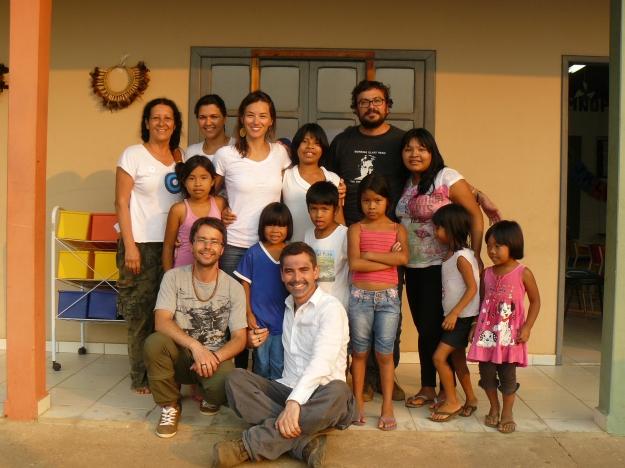 A big family. Credits: Patrícia Figeuiró Spinelli / GalileoMobile